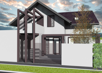 Casa pe Structura Metalica 02