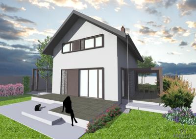 Casa pe Structura Metalica 03