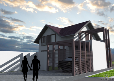 Casa pe Structura Metalica 04