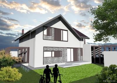 Casa pe Structura Metalica 05