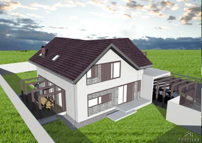 Casa pe Structura Metalica 06